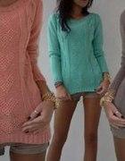 Kolorowe swetry na wymianę