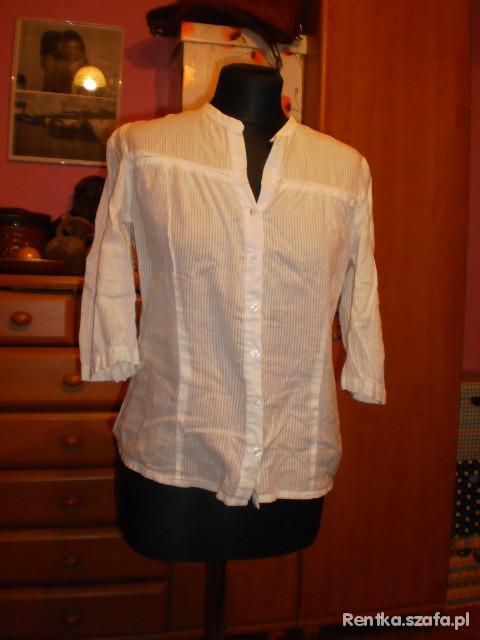 biała koszulka NeV LOOK