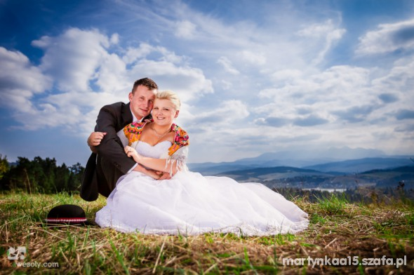 Na specjalne okazje Moja cudowna suknia ślubna