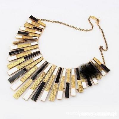 kolia biżuteria naszyjnik piękna złota srebrna...