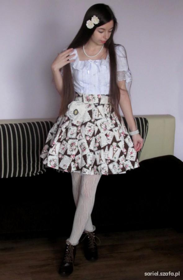 Mój styl Classic Lolita Lady Sariel