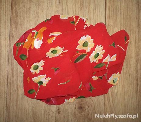 Chusty i apaszki chusta floral dość duża