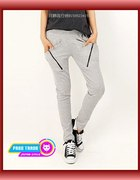 spodnie dresowe zip