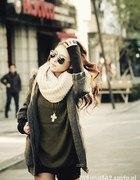 grube swetry inspiracje