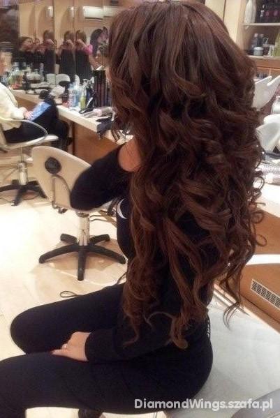 idealne włosy