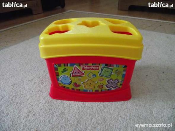 Zabawki Wiaderko z klockami Fisher Price
