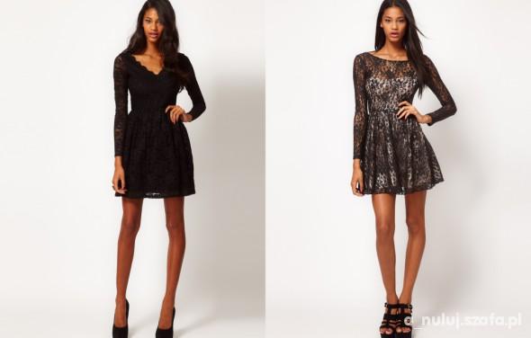 Wieczorowe Dwie sukienki wieczorowe którą wybrać