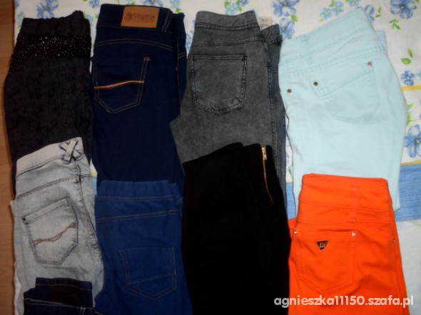 Spodnie tregginsy i spodnie moja mala kolekcja