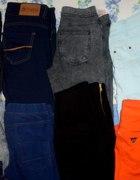 tregginsy i spodnie moja mala kolekcja...