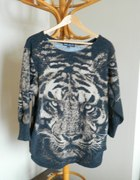 sweterek tygrys