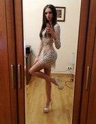 diamentowa sukienka