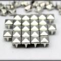 ĆWIEKI srebrne PIRAMIDKI 7mm