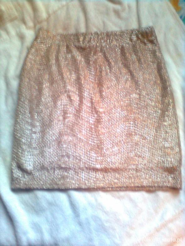 Spódnice złota hm