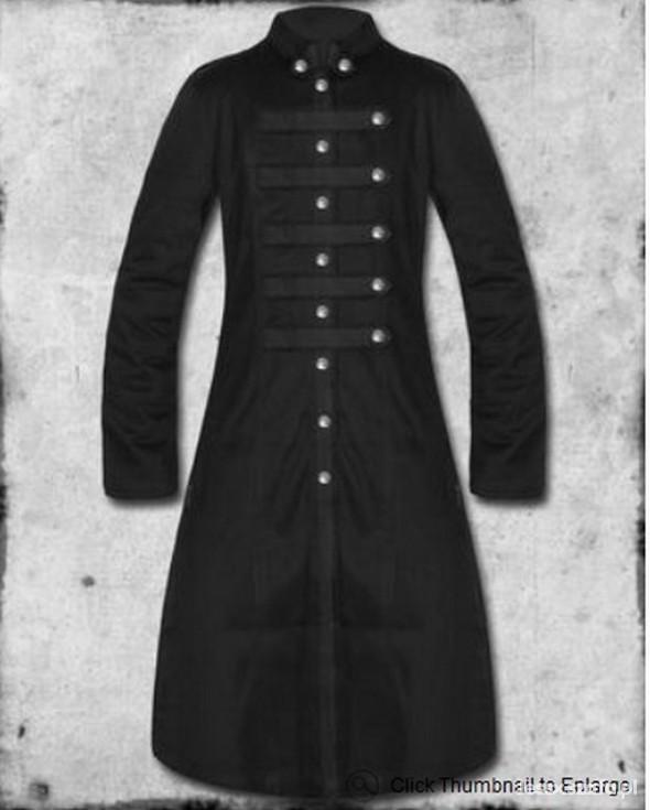Gotycki płaszcz