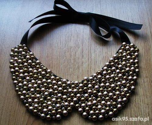 Kołnierzyk collar naszyjnik