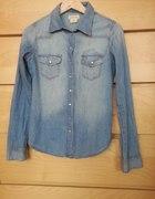 Koszula Jeans Ombre H&M 34 XS