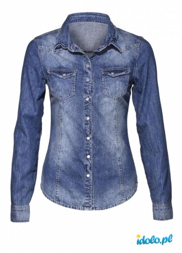Ubrania koszula dżinsowa