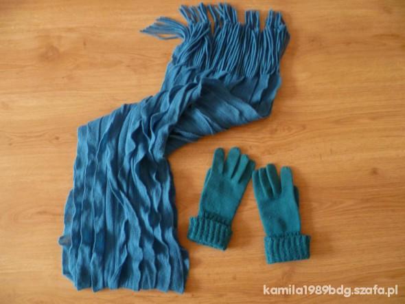 Chusty i apaszki szal i rękawiczki