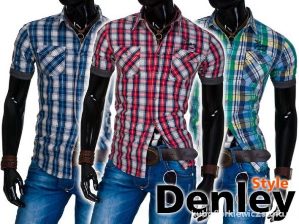 poszukiwane koszule męskie w kratę M