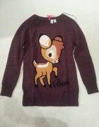 Sweter BAMBI H&M