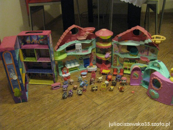 Zabawki dozy domek litles pet shop