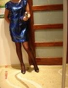 Cekinowe szaleństwo sukienka