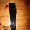 włosy clip on