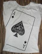 bluzka karta nie noszona