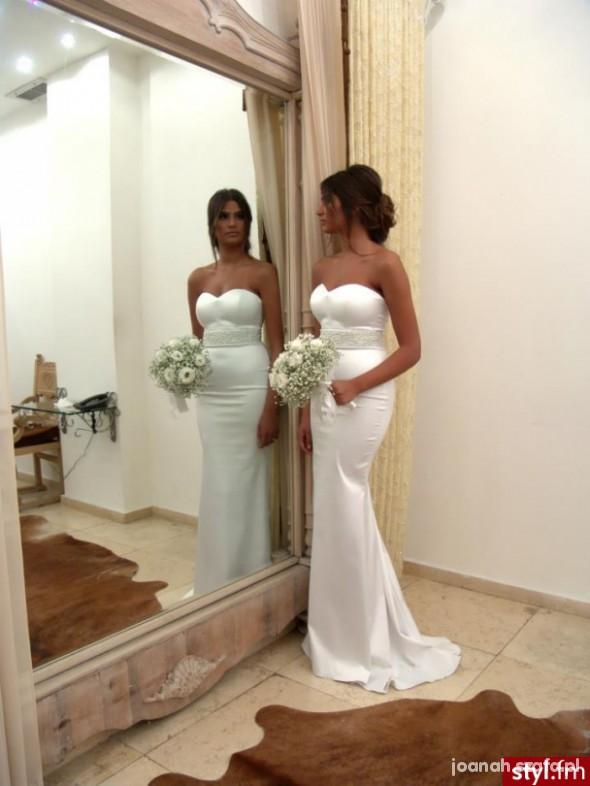 Mój styl Cudna ślubna suknia