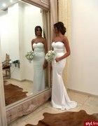 Cudna ślubna suknia