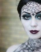 Gothic make up...