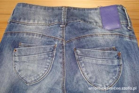 Spodnie bershka rurki skiny