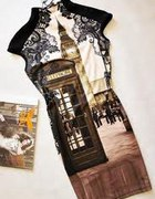 POSZUKUJĘ Sukienka wzór Big Ben lub Krajobraz