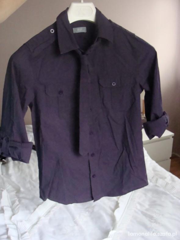 Koszulki, podkoszulki Śliwka węgierka z krawatem 15 zł z przesyłką