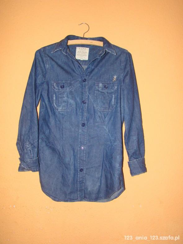 River Island jeans koszula 36S