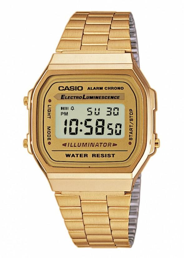 Złoty zegarek Casio...
