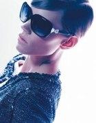 Okulary nowe Chanel z kokardką kokardka biała