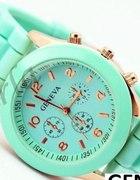 Zegarek Jelly Watch GENEVA Miętowy