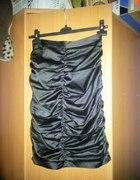 Czarna sukienka wesele studniówka