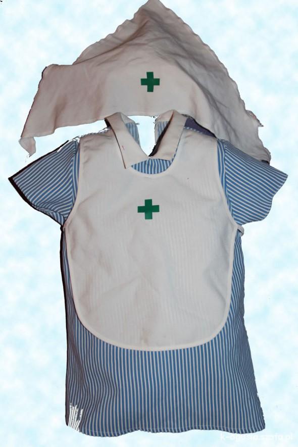 Komplety Lekarka pielęgniarka 45 lat przebranie na bal
