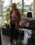 zimowy dzień w biurze...