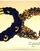 złote bransoletki z łańcuchów...