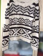 sweter ażurkowy najmodniejszy 36 38 polecam