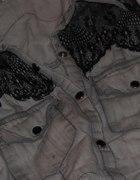 koszula jeansowa long xs