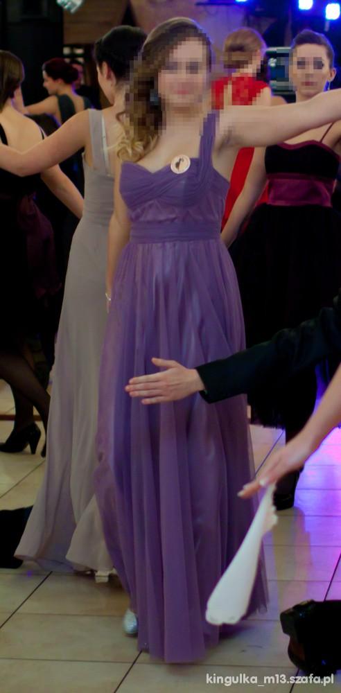 Wieczorowe Studniówka długa suknia