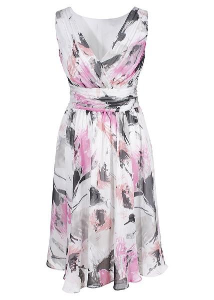 e9db64541d nowa letnia sukienka szyfon 46 48 w Suknie i sukienki - Szafa.pl