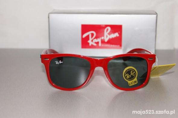 626edf8b44b902 RAY BAN WAYFARER 2140 czerwone w Okulary - Szafa.pl