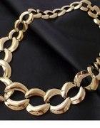 Złoty łańcuch ala ASOS