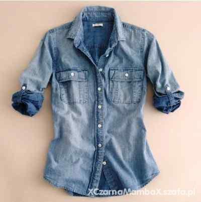 Koszula jeans 40 42