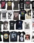 Koszulki z zespołami